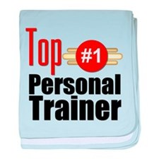 Top Personal Trainer baby blanket