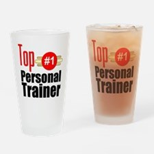 Top Personal Trainer Drinking Glass