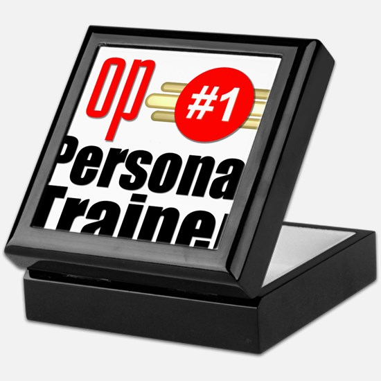 Top Personal Trainer Keepsake Box