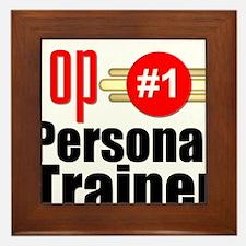 Top Personal Trainer Framed Tile