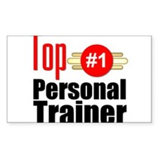 Top Personal Trainer Decal