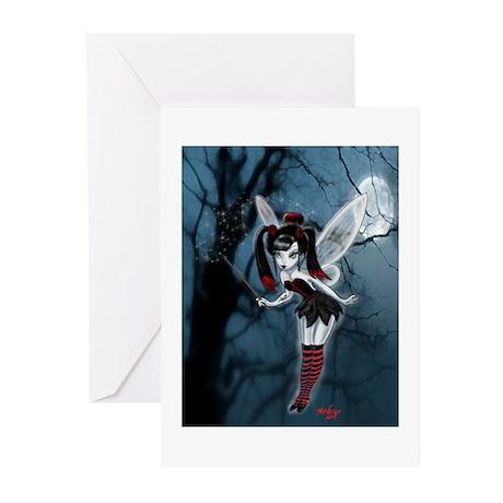 Dark Goth Fairy Greeting Cards (Pk of 20)