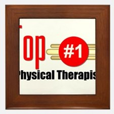 Top Physical Therapist Framed Tile