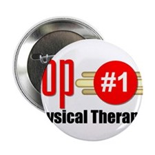 "Top Physical Therapist 2.25"" Button"