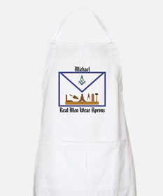 Masonic Custom (Michael) BBQ Apron