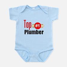 Top Plumber Infant Bodysuit