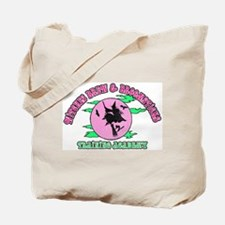 Witches Brew & Broom Tote Bag