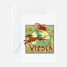 Vizsla Two Greeting Cards (Pk of 10)