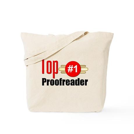 Top Proofreader Tote Bag