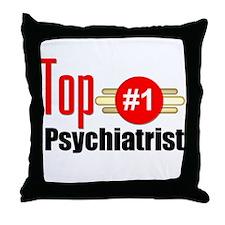 Top Psychiatrist Throw Pillow