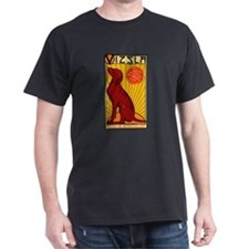 Vizsla One Black T-Shirt