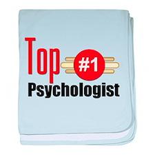 Top Psychologist baby blanket