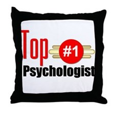 Top Psychologist Throw Pillow