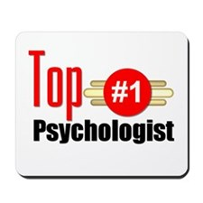 Top Psychologist Mousepad