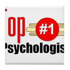 Top Psychologist Tile Coaster