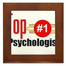 Top Psychologist Framed Tile
