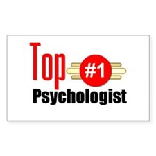 Top Psychologist Decal