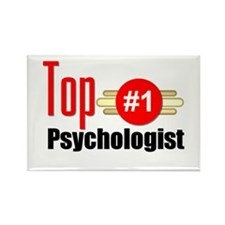 Top Psychologist Rectangle Magnet