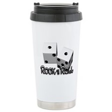 ROCK N ROLL Travel Coffee Mug