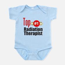 Top Radiation Therapist Infant Bodysuit