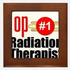 Top Radiation Therapist Framed Tile