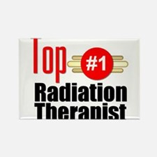 Top Radiation Therapist Rectangle Magnet