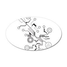 Circuit Wall Sticker