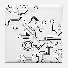 Circuit Tile Coaster