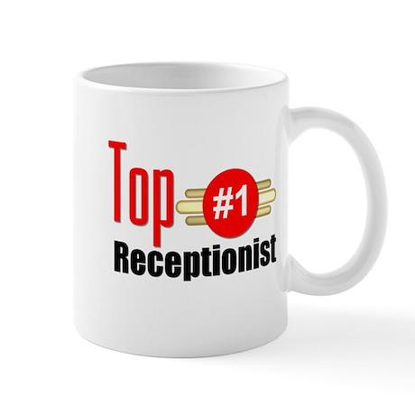 Top Receptionist Mug
