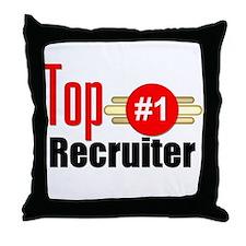 Top Recruiter Throw Pillow