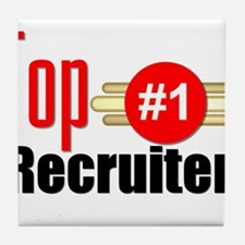 Top Recruiter Tile Coaster