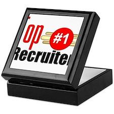 Top Recruiter Keepsake Box