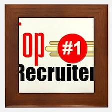 Top Recruiter Framed Tile