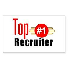 Top Recruiter Decal