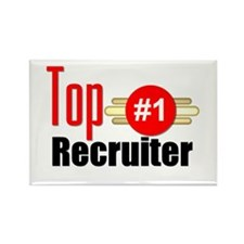 Top Recruiter Rectangle Magnet