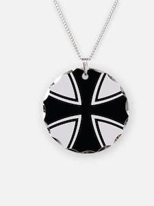 Biker Cross Necklace