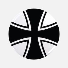 """Biker Cross 3.5"""" Button"""