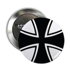 """Biker Cross 2.25"""" Button"""