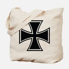 Biker Cross Tote Bag