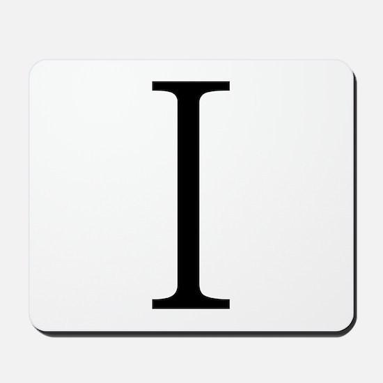 Greek Alphabet Iota Mousepad