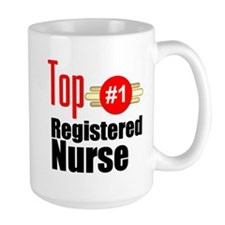 Top Registered Nurse Mug