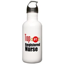 Top Registered Nurse Water Bottle