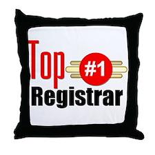 Top Registrar Throw Pillow