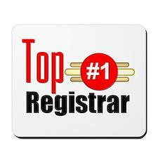 Top Registrar Mousepad