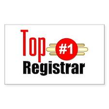 Top Registrar Decal