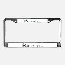 Refinance License Plate Frame