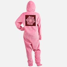 SNOWFLAKE102.png Footed Pajamas