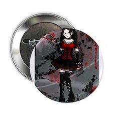 """Gothic Lolita- Journal Version 2.25"""" Button"""
