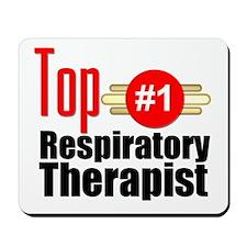 Top Respiratory Therapist Mousepad