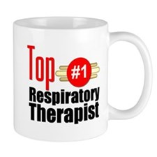 Top Respiratory Therapist Mug